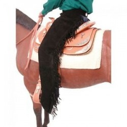 Suede Equitation Chaps