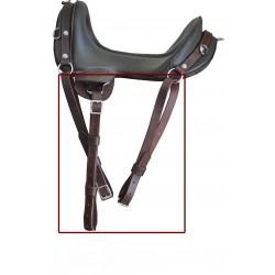 McClellan replacement stirrup strap & Quarter Strap set