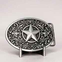 Belt Buckle with Star