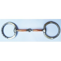 Kelly Silver Star Engraved Silver Eggbutt Snaffle